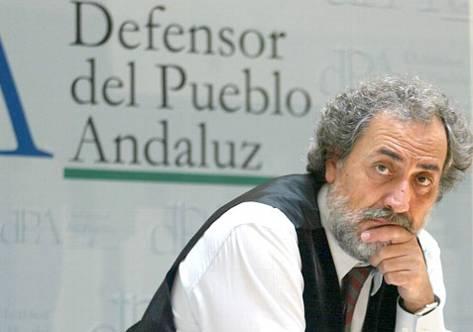 José Chamizo, defensor del pueblo andaluz