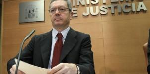 Alberto Ruiz-Gallardón, Ministro de Justicia