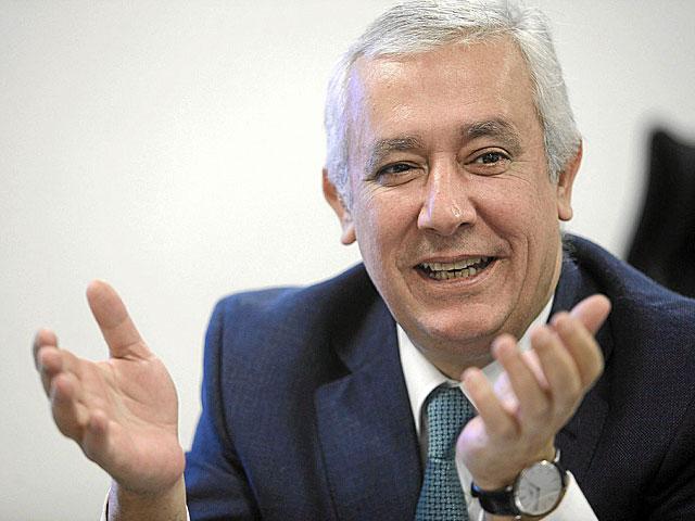 Javier Arenas, presidente del PP en Andalucía