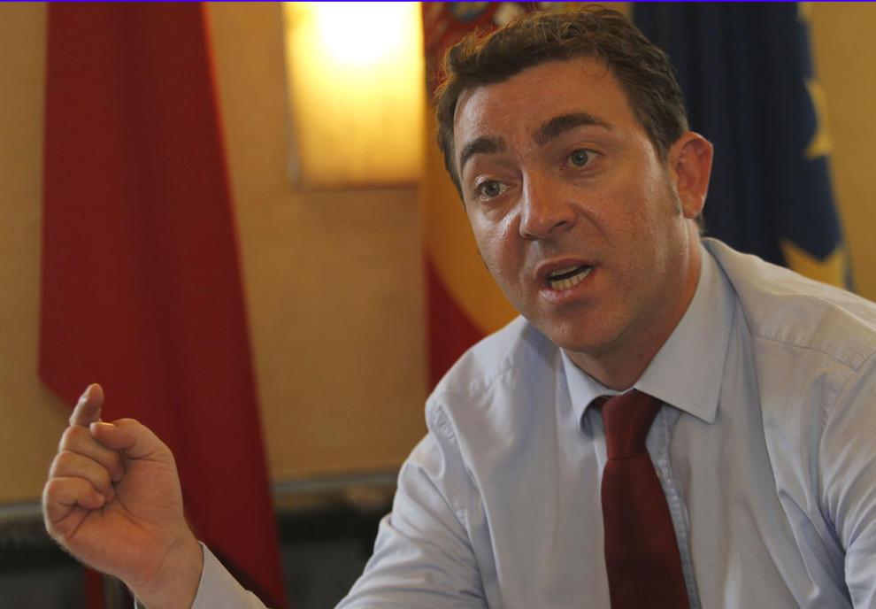 Roberto Jiménez, vicepresidente primero del Gobierno de Navarra